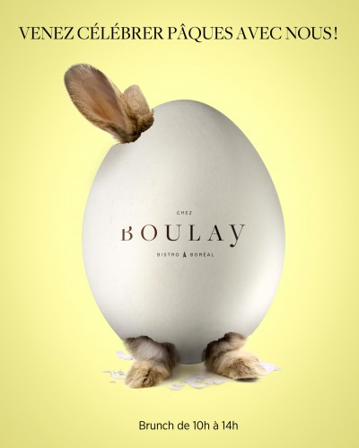 Chez Boulay – Brunch de Pâques